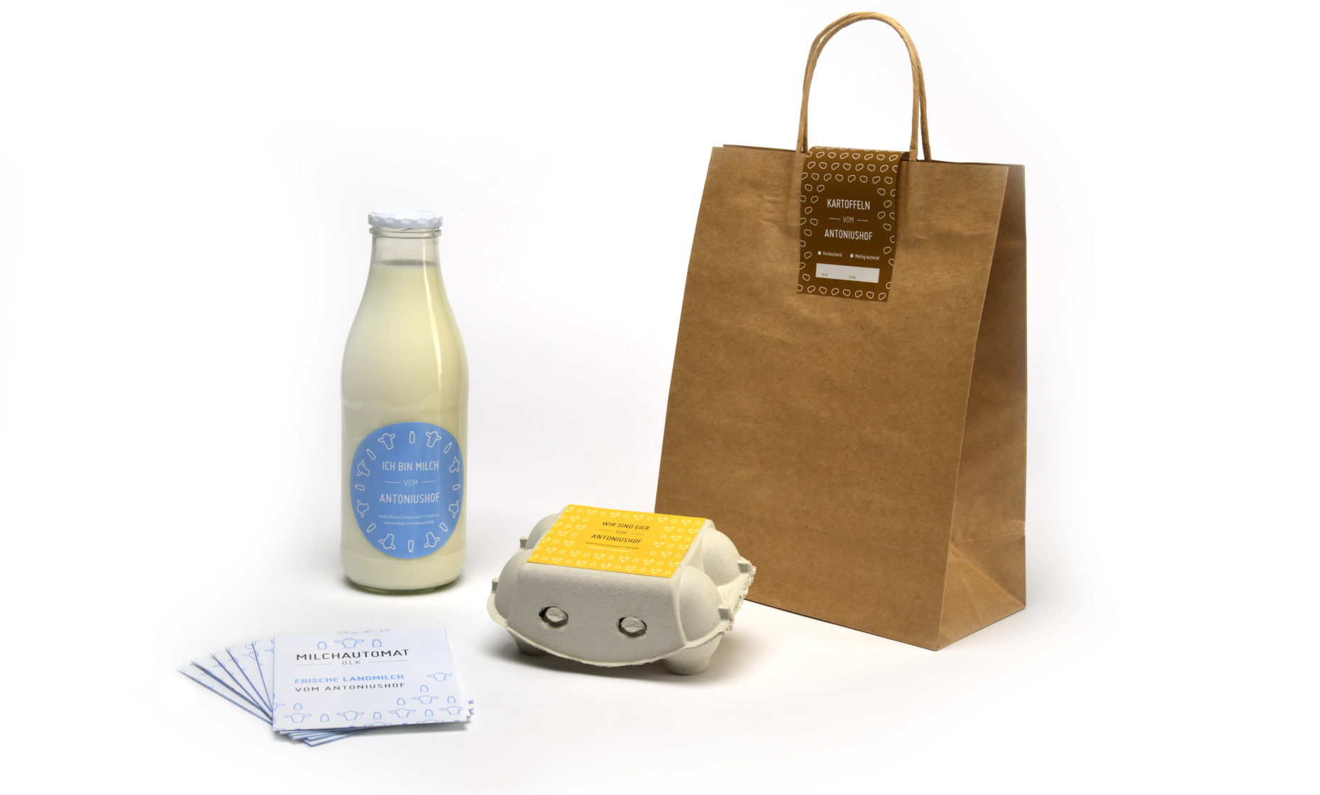 Antoniushof Corporate Design und Packaging